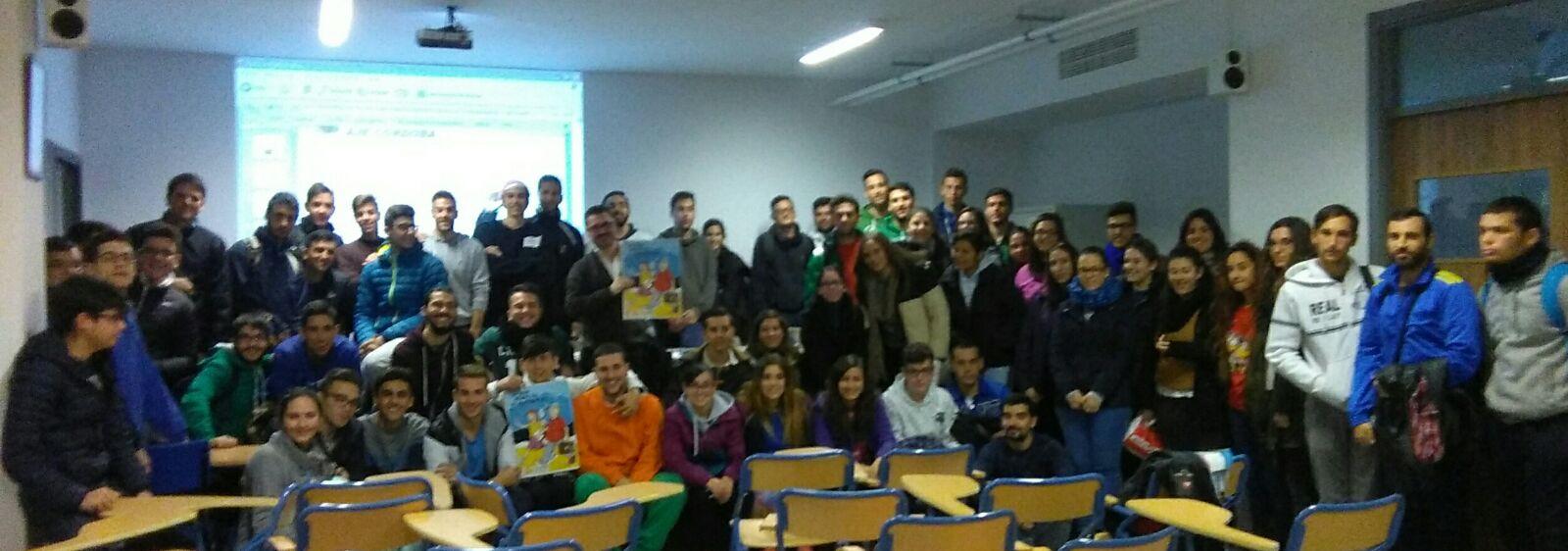 Sesión sobre autoempleo a cargo de Jorge Martínez para alumnos de Grado Superior