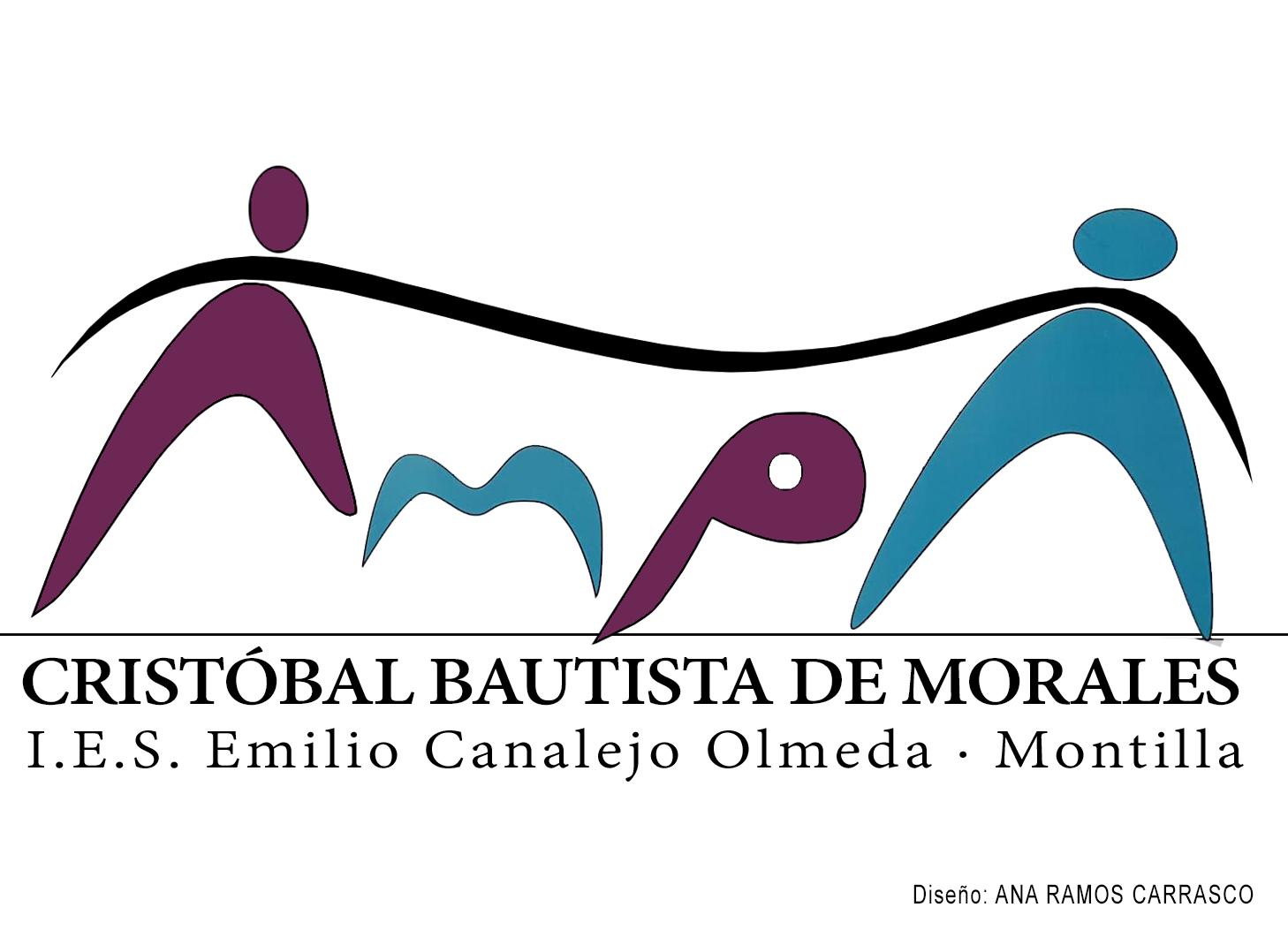Nuevo logotipo para el AMPA Cristóbal Bautista de Morales