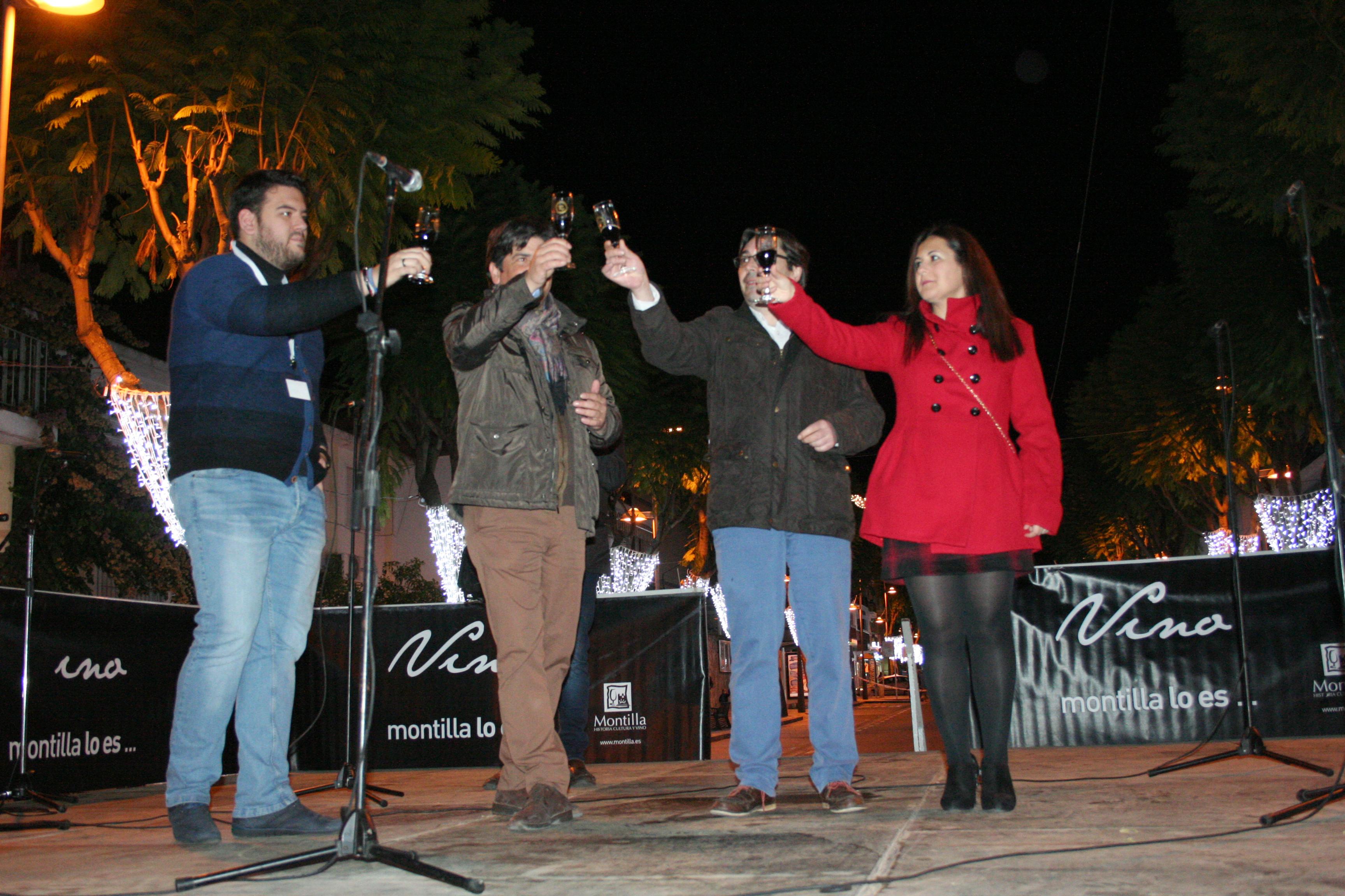 Brindis por Montilla con vino PX