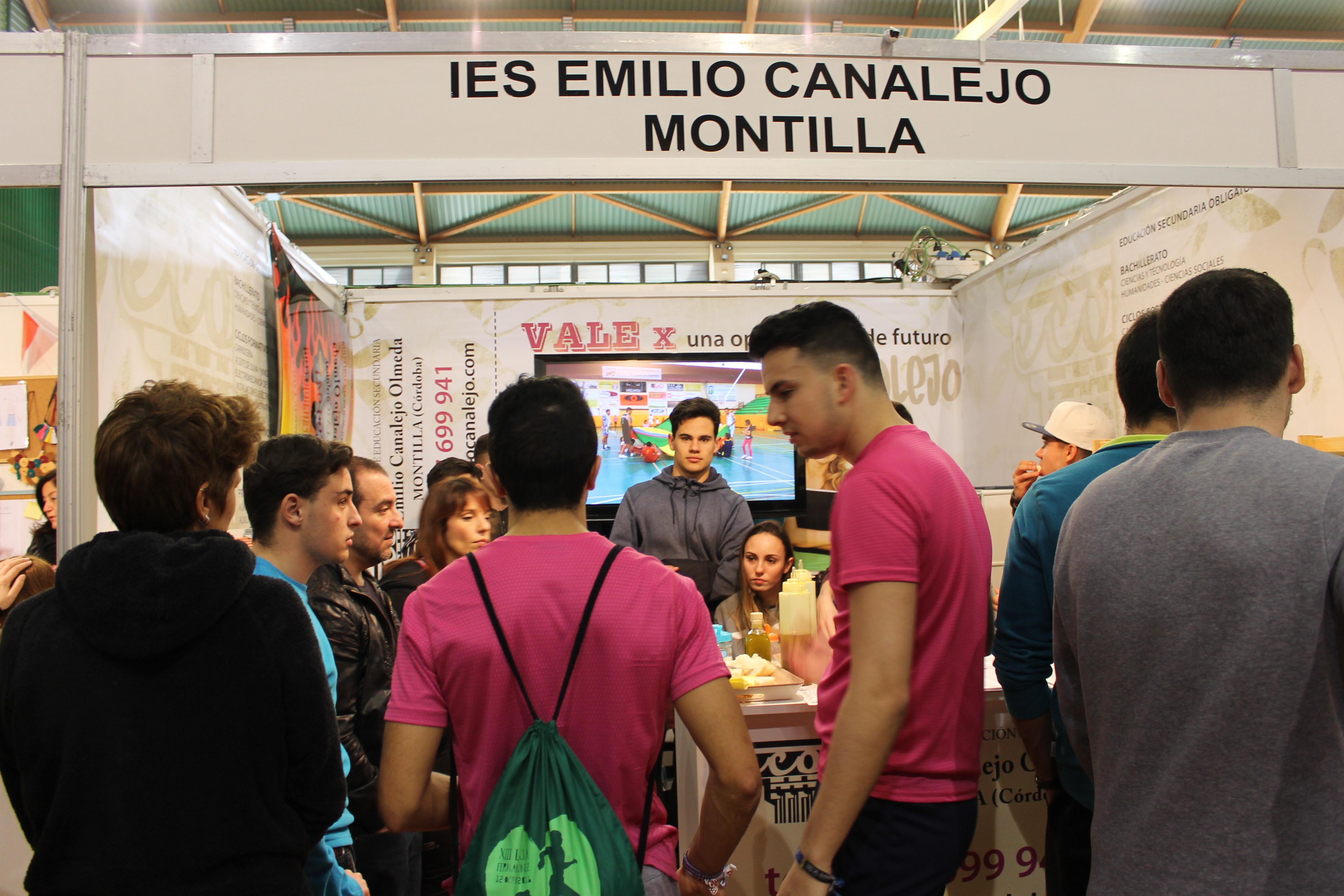 El IES Emilio Canalejo Olmeda participa en el Salón del Estudiante de Lucena