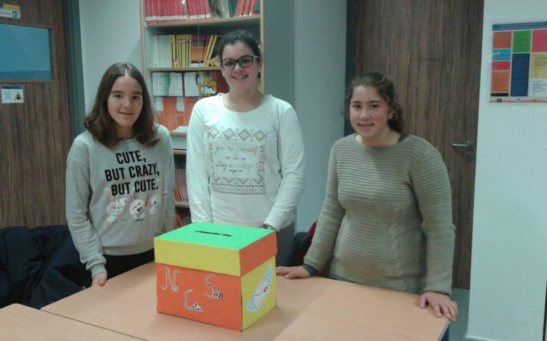 El alumnado mediador visita el hospital de Montilla