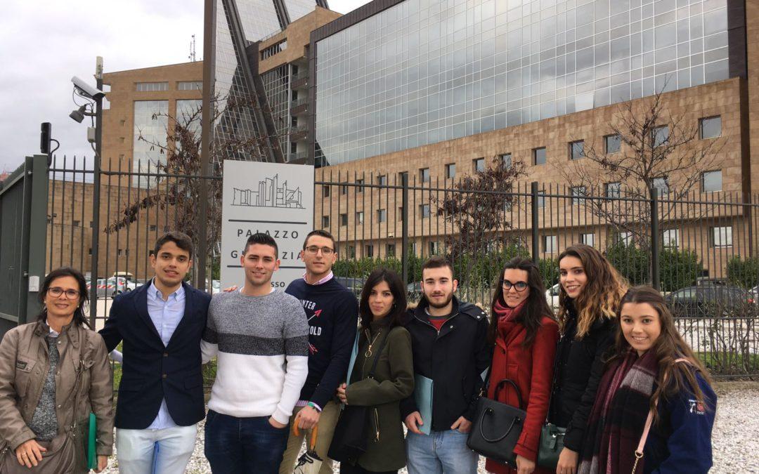 8 alumnos de nuestro centro realizan prácticas en el Palacio de Justicia de Florencia dentro del Programa Erasmus+