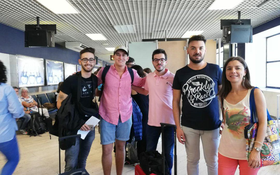 Nuestros estudiantes por Europa con Erasmus +