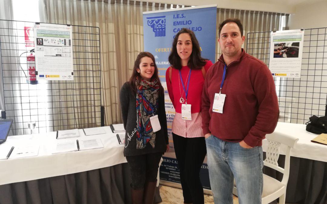 Profesores de nuestro centro participan en las II Jornadas Andaluzas de FP