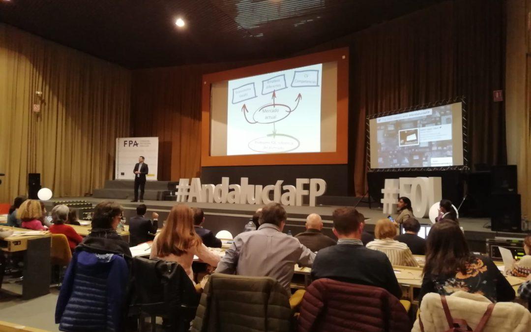 Profesores de nuestro centro participan en el encuentro de profesores de FOL de Andalucía