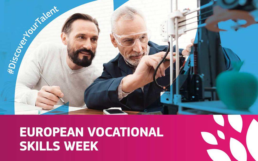 Nuestro centro presenta en la Semana Europa de la FP los proyectos que tiene en marcha
