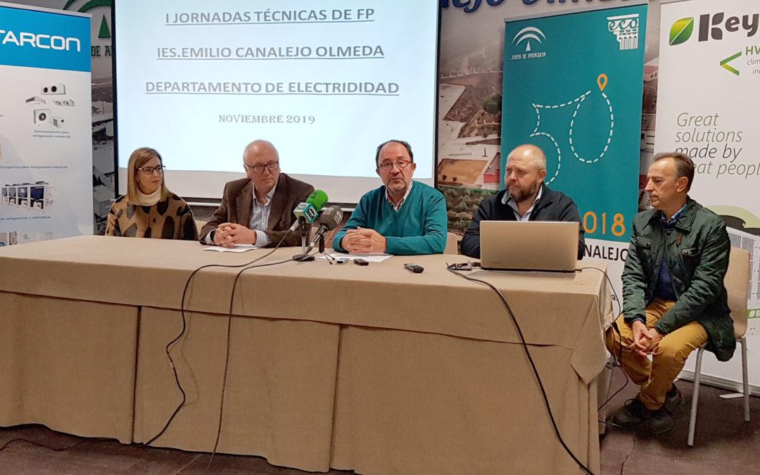 Nuestro centro celebrará una jornada formativa con la colaboración de importantes empresas del frío, electricidad y electrónica
