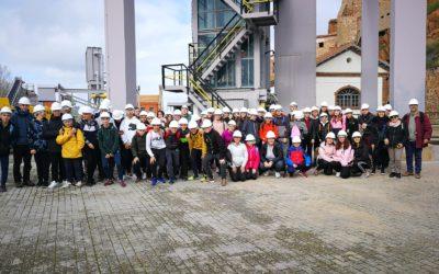 Los alumnos de 2º de ESO visitan las minas de Almaden