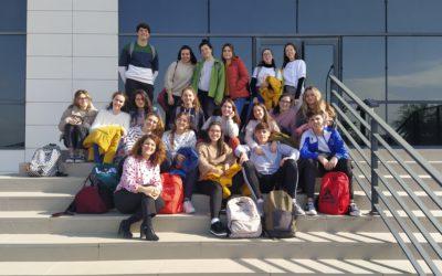 Alumnos de Diseño y Cultura Emprendedora visitan las instalaciones de RIOMA