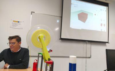 Taller de impresión en 3D para alumnos de 1º de bachillerato