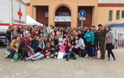 Visita de alumnos al salón del estudiante celebrado en Lucena