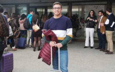 David Espinosa, alumno galardonado con una beca Europa