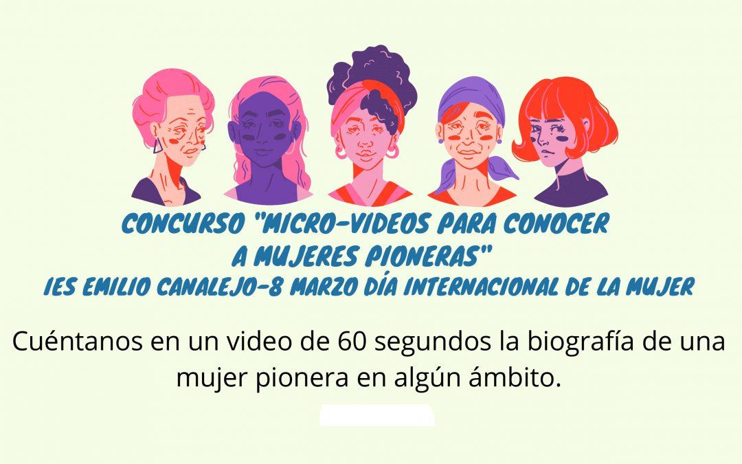 Concurso de micro-vídeos para conmemorar el Día Internacional de la Mujer