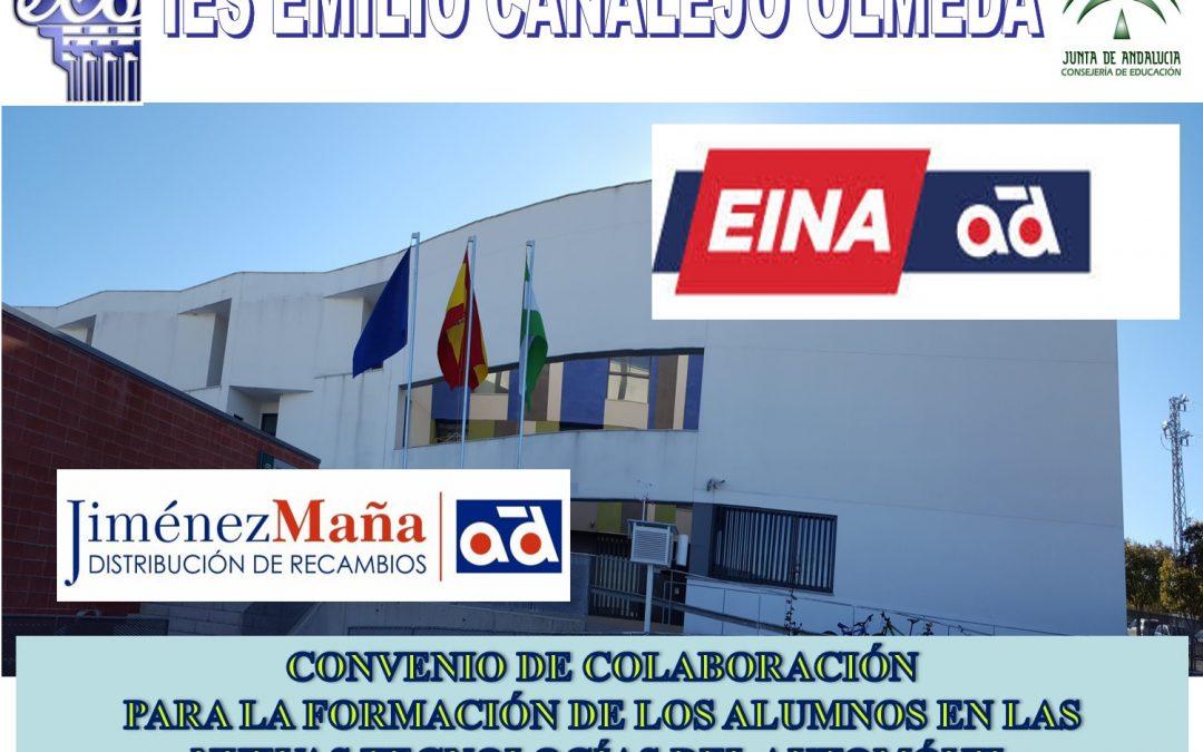 Acuerdo de colaboración del IESECO con el Grupo EINA-AD