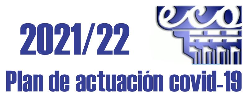 Plan de actuación covid-19 curso 2021/22
